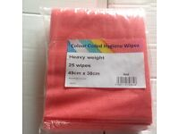 Heavy Weight Kitchen Wipes Colour coded - 100