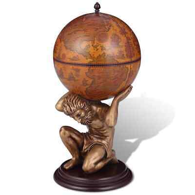vidaXL Globebar Atlas Bar Globe Wereldbolbar Wereldbol Drankkast Kast Houder, gebruikt tweedehands  Nederland