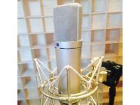Vocal Recording Studio - Neuman U87 / SSL / Neve / Avalon 737 - £50 - Central London / East London