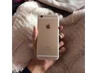 Apple iPhone 6 gold 128gb immaculate