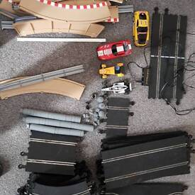 Scalectrics set with a few cars
