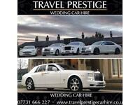 Wedding Car Hire / Chauffeur / Rolls Royce Phantom / Bentley / Aston Martin Rapide