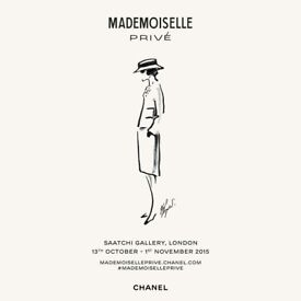 Mademoiselle Prive Chanel Poster Exhibition - Securely packaged in a Tube