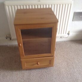 TV/video cabinet for sale.