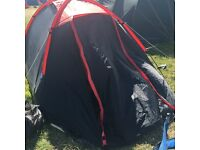 4 man tent - used twice