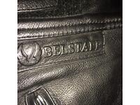 Belstaff men's 36 leather motorcycle trousers