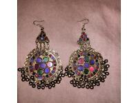 Afghan vintage earrings
