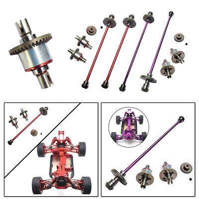 Car Parts - Metal Gear Drive Shaft Kit Set Upgrade RC Car Parts For WLtoys 144001 124018