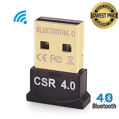 Bluetooth 4.0 USB 2.0 CSR 4.0 Dongle Adapter fr PC LAPTOP WIN XP VISTA 7/8/10 KY