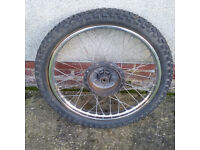 Suzuki TS250 Front Wheel