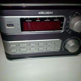 Alarm clock radio & CD alarm clock radio