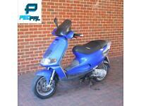 Piaggio skipper 180cc reg as 125cc moped scooter vespa honda yamaha gilera peugeot
