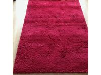 red next rug