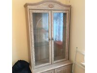 Lovely Solid Wood Cabinet for sale.