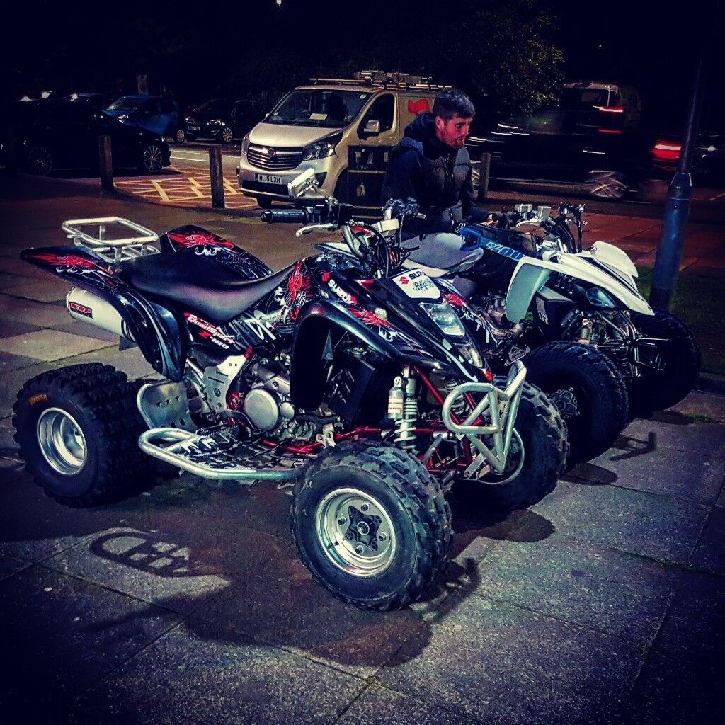 LTZ 400 quadsport special efition red frame £**2450**
