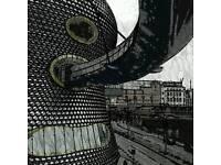 Birmingham bullring abstract photo