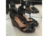 Black wedges from Office (size 5)