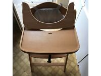 Baby high chair quality built as new bargain