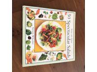 Step By Step 50 Spectacular Salads Hardcover) Cookbook