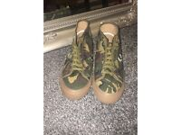Camo Fred Perry Booties