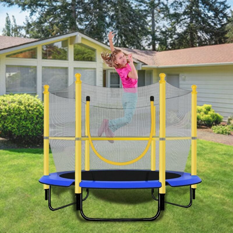 """Outdoor/Indoor Jumping 60"""" Youth Kids Trampoline Exercise Sa"""
