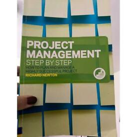 Book Project management , step by step