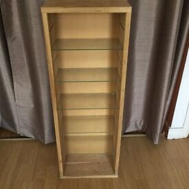 2 Solid Pine CD Stands