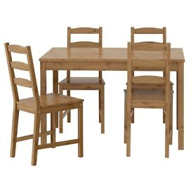 Brand new ikea table jokkmokk 4 seater ( chairs not included)