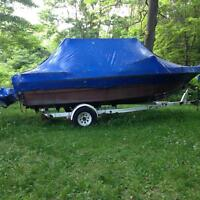 1975 Princecraft 19.5 foot boat AS IS