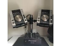 dj stand & Dj set PIONEER £450 with a GIFT