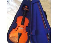 Violin,bow,case etc.Perfect,unused condition..