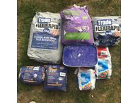 Job Lot Of Wall/Floor Tile Adhesives Mapei Tile Grout And PrimeGrip From EMC Tiles And Ceramics.