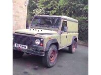 Land Rover utility ex military vehicle