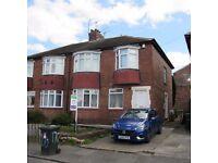 3 Bedroom upper Floor Flat, Ovington Grove, Fenham, NE5 2QD