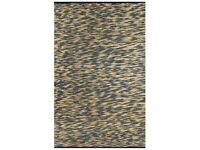 Handmade Rug Jute Blue and Natural 80x160 cm-133743