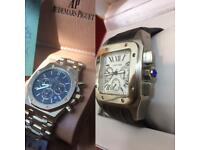 CARTIER SANTOS 100 XL AUDEMARS PIGUET AP WATCHES WATCH LONDON AUTOMATIC CHEAP NORTHWEST HENDON