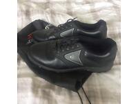 Men's size 12 Dunlop black golf shoes