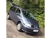 HI SPEC SEAT ALHAMBRA REFERENCE TDI 7 SEATER/ IDEAL SIZE/SERVICE HISTORY/NEW MOT/FORD GALAXY/VW