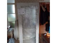 Pivot shower doors and tray 800x800