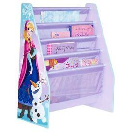 child's frozen bookcase