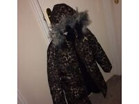 Girls blue zoo winter coat, age 11-12. Excellent condition. Pick up only.
