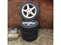 4 x Vauxhall corsa allot rims and tires