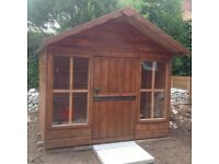Malvern Playden Outdoor Wooden Playhouse - Childs den