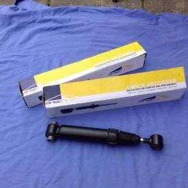 Brand New Unused Anschler Shock Absorbers (x2) for Peugeot 206