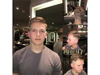 Free Gents hair cut