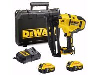 DeWalt DCN660P2 2nd Fix Gasless Nailer 18v 5.0Ah DCB184 Batteries
