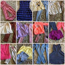 Designer girls summer clothes bundle 10-11years excellent condition
