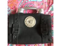Vintage Leather Telephone Bag