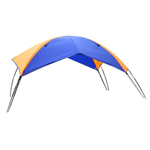 Foldable Canopy for Inflatable Boat 4 Person Camping Fishing