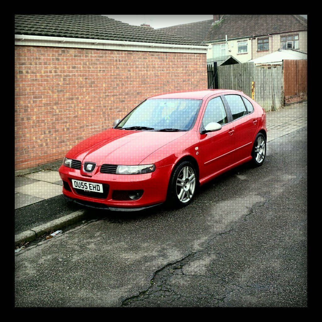 fire red seat leon fr tdi 150 bhp 5dr 2005 very economical in coventry west midlands gumtree. Black Bedroom Furniture Sets. Home Design Ideas